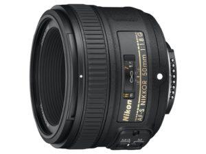 Photo of the Nikon 50mm f 1.8 G Lens