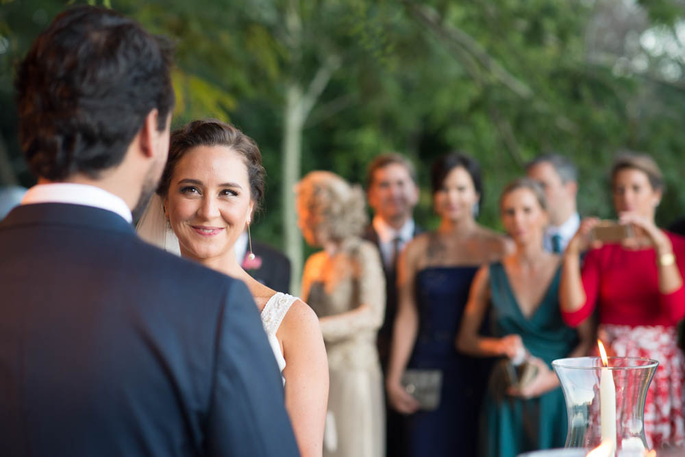 Using the Nikkor 85mm f 1.8 G to capture an intimate moment during wedding ceremony