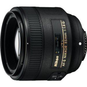 product image of the best budget nikon portrait lens, the Nikon 85mm f/1.8G