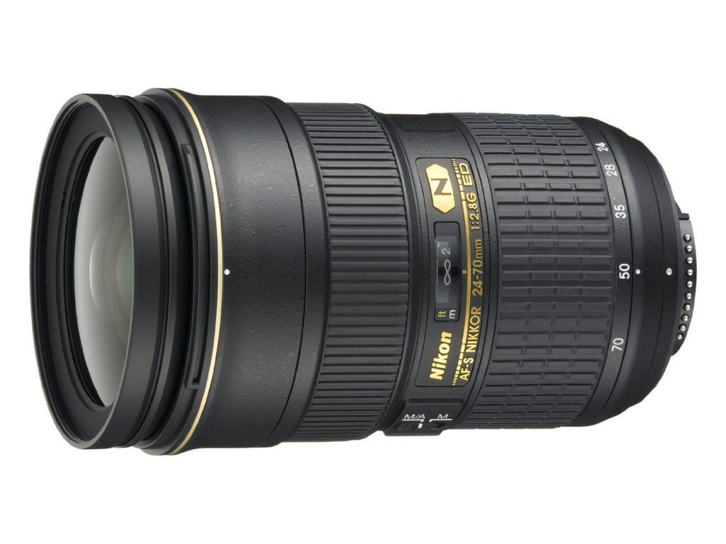 Amazon product image of the Nikon 24-70 2.8G Lens