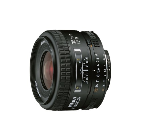 An Amazon product image of the Nikon 35mm f2D