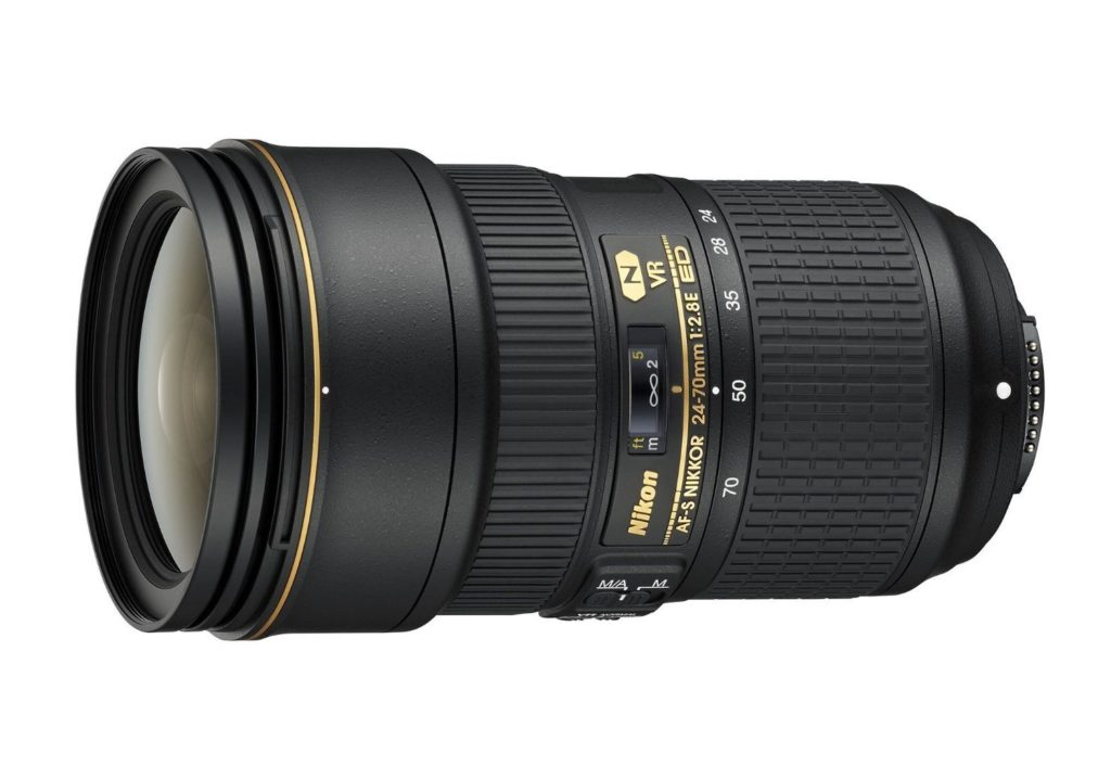 amazon product sample image of the nikon 24-70 f/2.8 VR II Lens