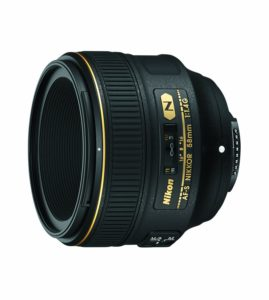 amazon product image of one of the best lenses for Nikon d750, the nikon 58mm f1.4G