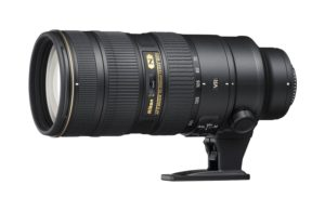nikon 70-200 f2.8 vr ii product image from amazon