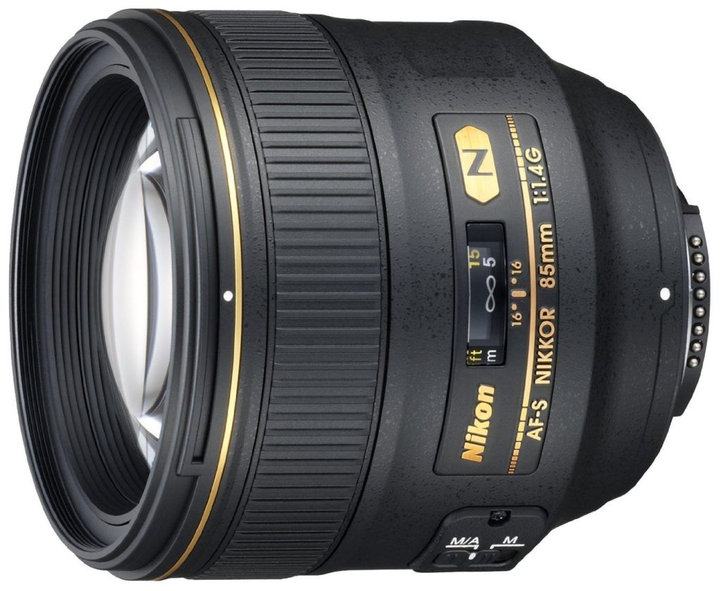 amazon product image of the nikon 85mm 1.4g, the second best lens for the nikon d750