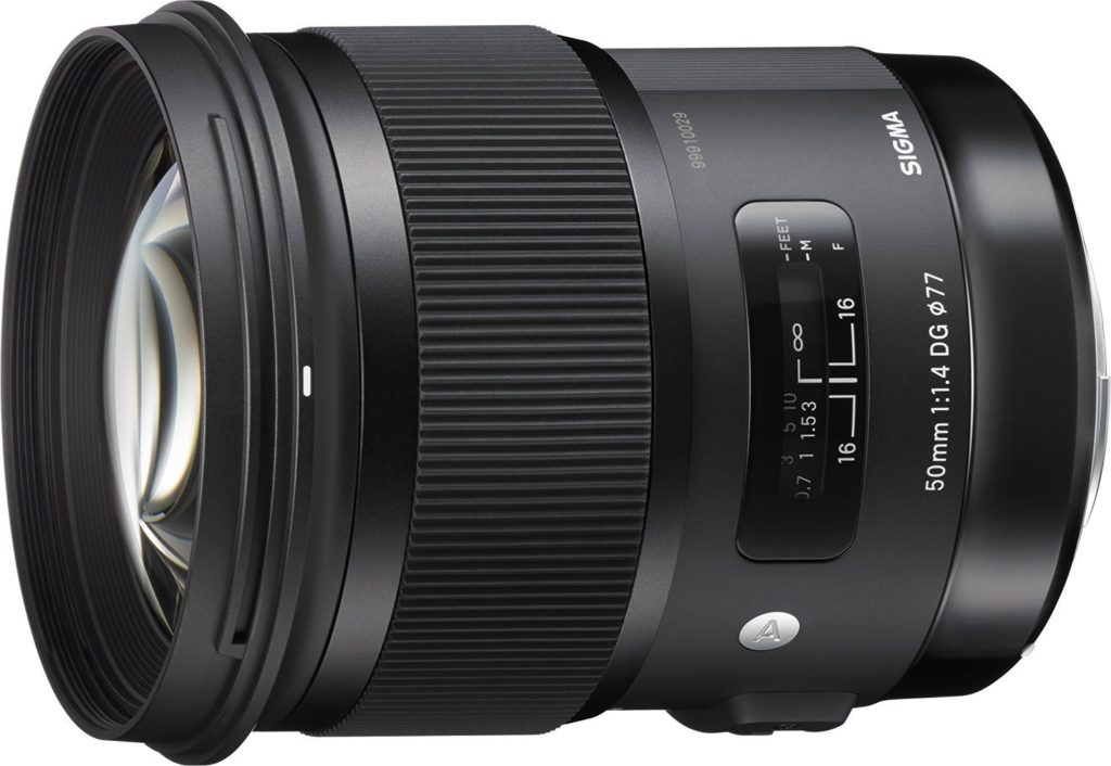 amazon product image of the 50mm f/1.4 ART lens