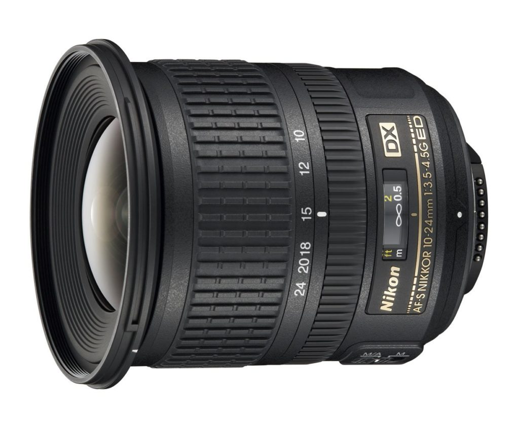 Amazon product image of the best Nikon DX lens for landscape photography