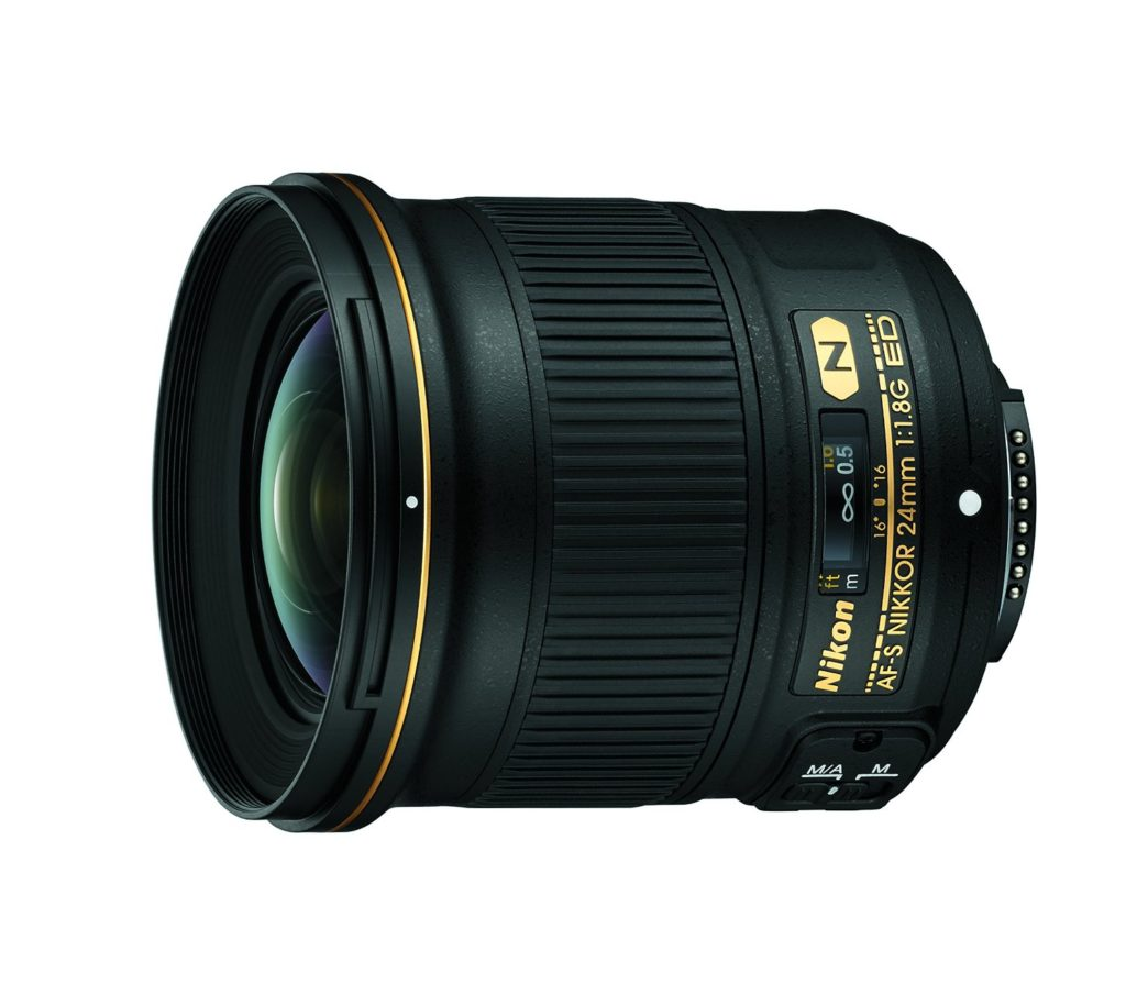 Amazon product image of the best Nikon prime lens for landscape photography