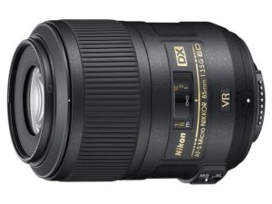 An Amazon product image of the Nikon 85mm f/3.5G