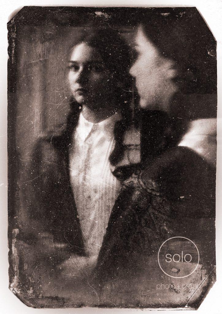 Image of a pinhole portrait