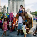 Street photography image shot in Rio de Janeiro, Brazil with a 28mm lens