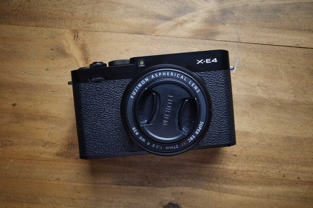 Image of the camera for Fujifilm X-E4 Review