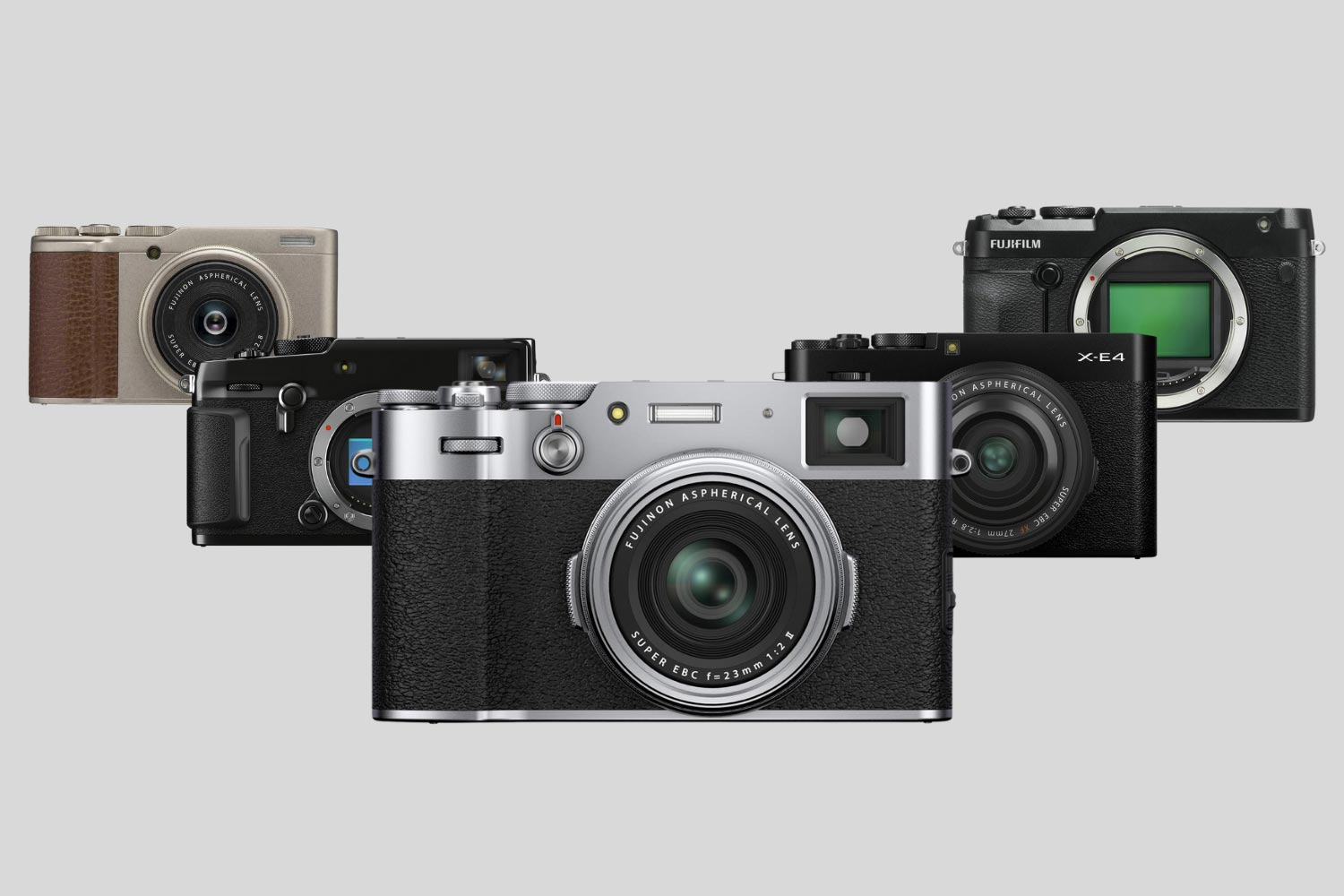 Image showing all the best fujifilm cameras for street photography